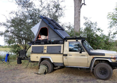 Camping Chobe4x4 Self Drive Botswana Adventure