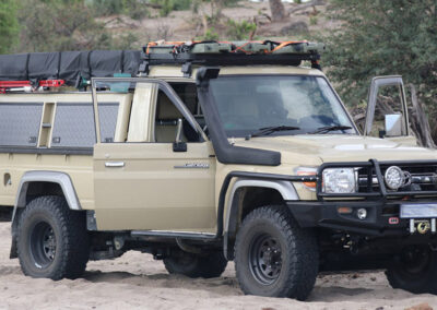 Self Drive Safari Botswana Chobe 4x4 Toyota Landcruiser