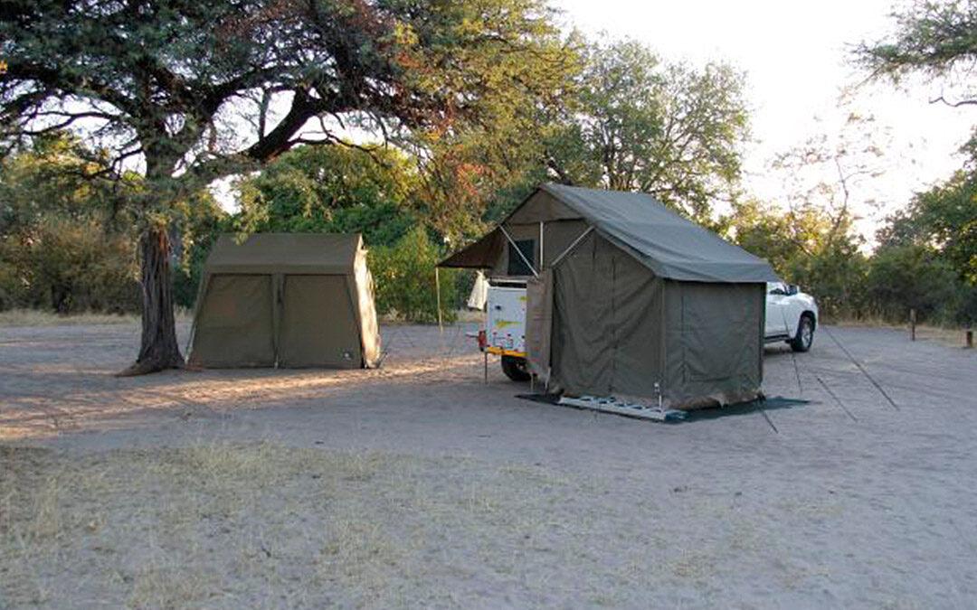 Camping Botswana Khumaga Wild Life Camp