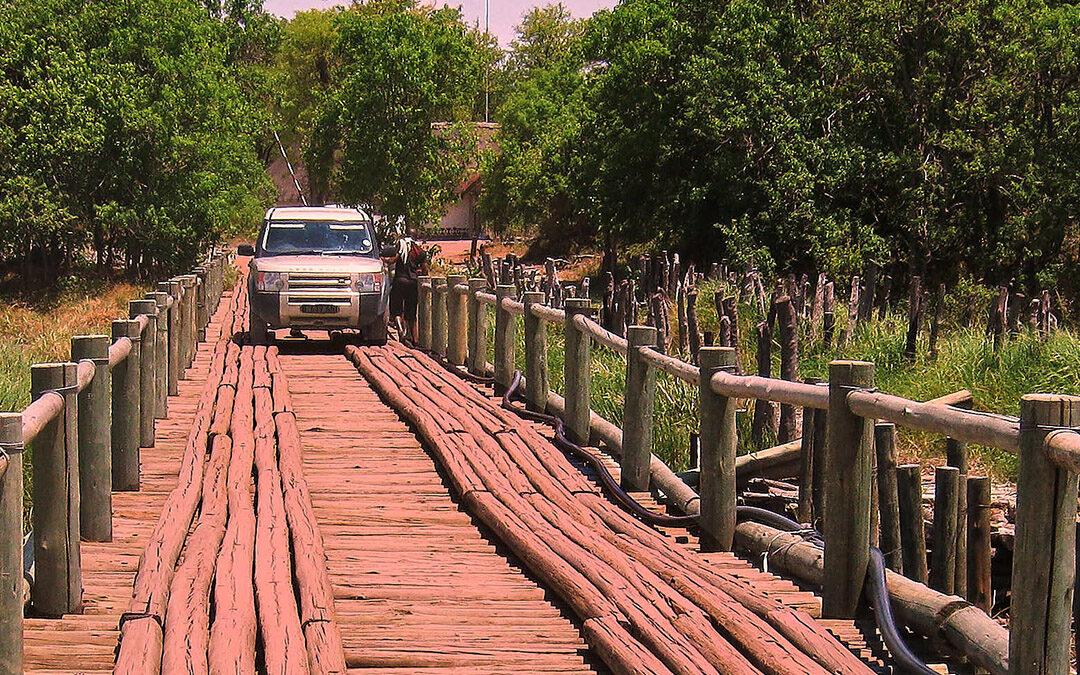 Camping Botswana Khwai North Gate Moremi